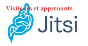 Jitsi pour les visiteurs, élèves et étudiants